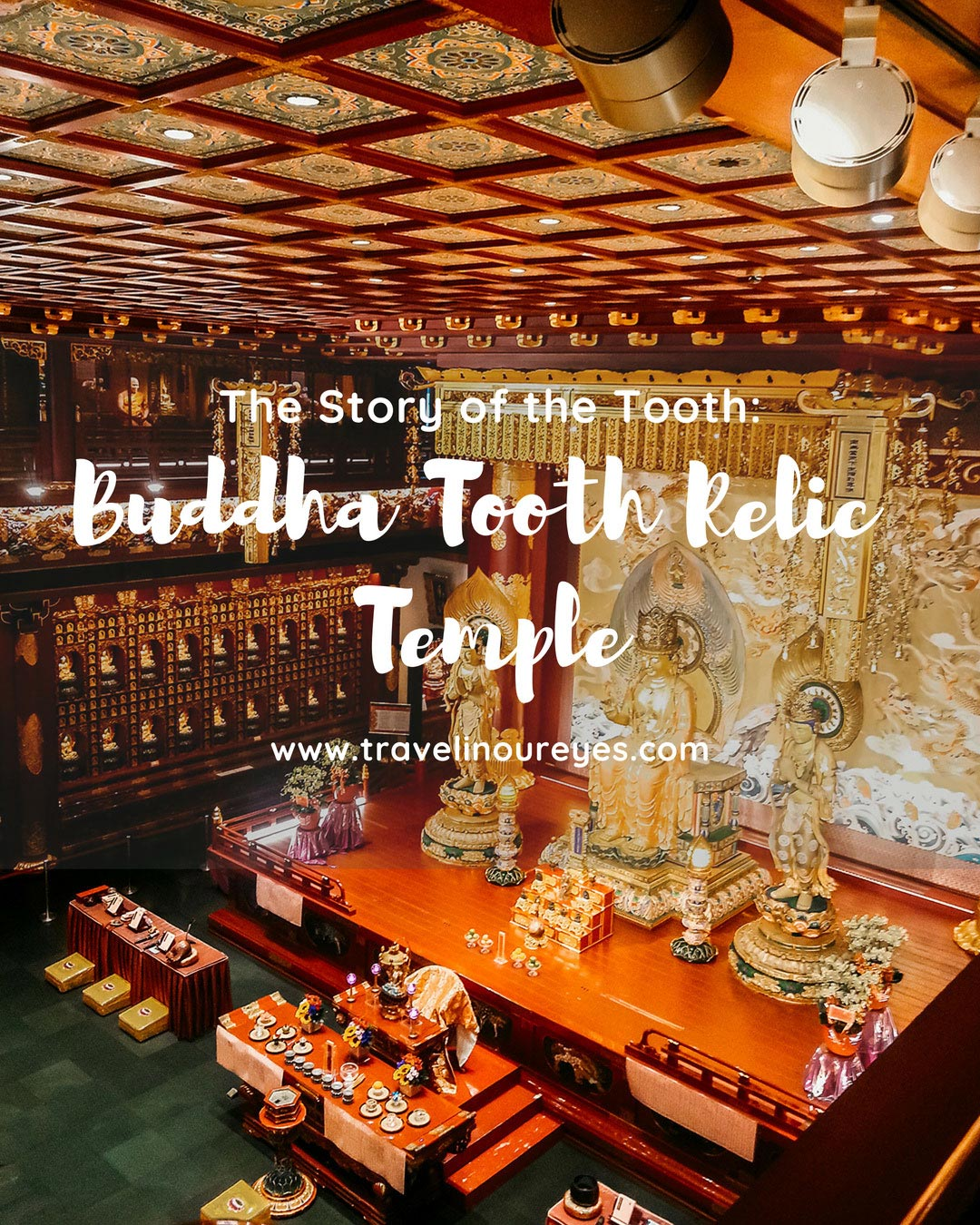 Insights into Singapore's Amazing Buddha Tooth Relic Temple