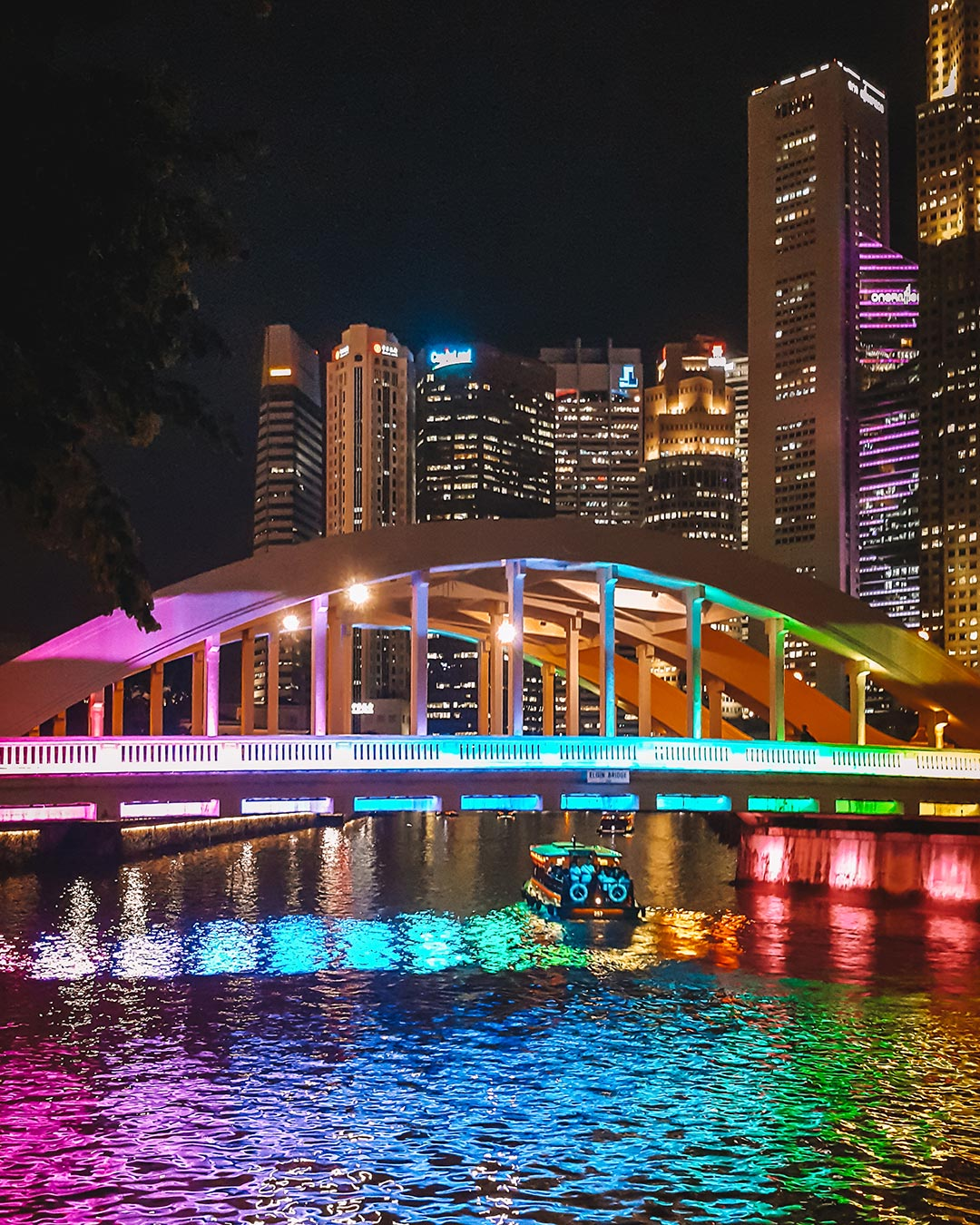 Rainbow Bridge Clarke Quay