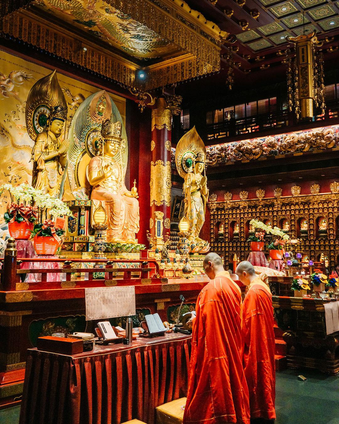 Buddhist Ceremony Singapore