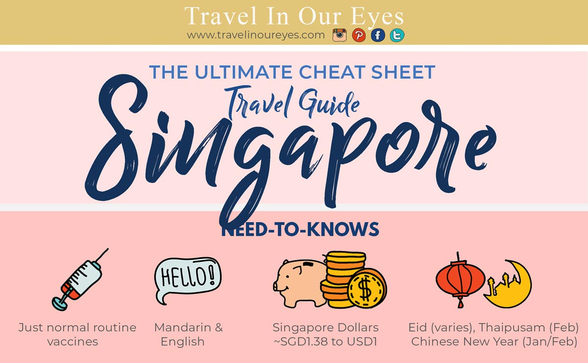 Ultimate Singapore Travel Guide Infographic