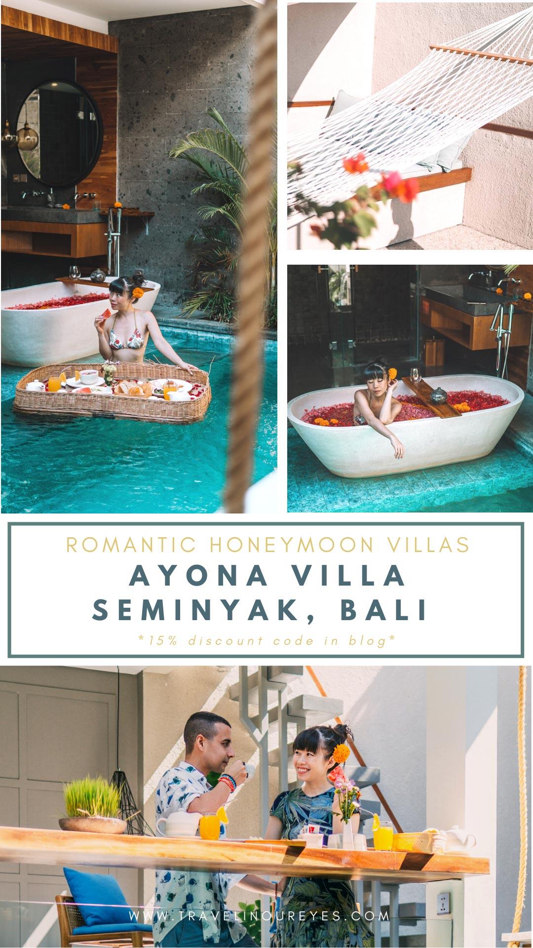 Ayona Villa: Luxurious Romantic Villa in Seminyak, Bali