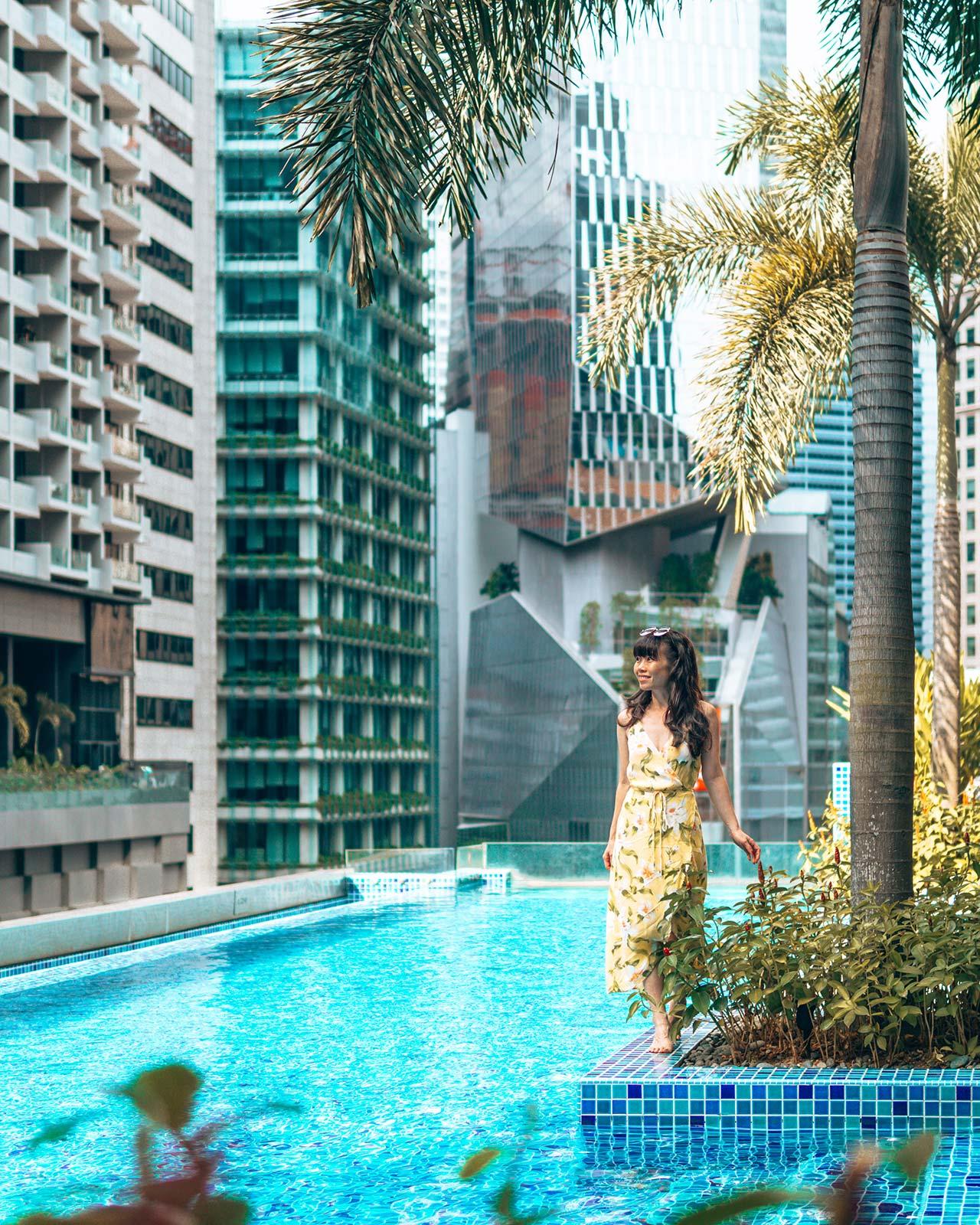 SO Sofitel Rooftop Infinity Pool